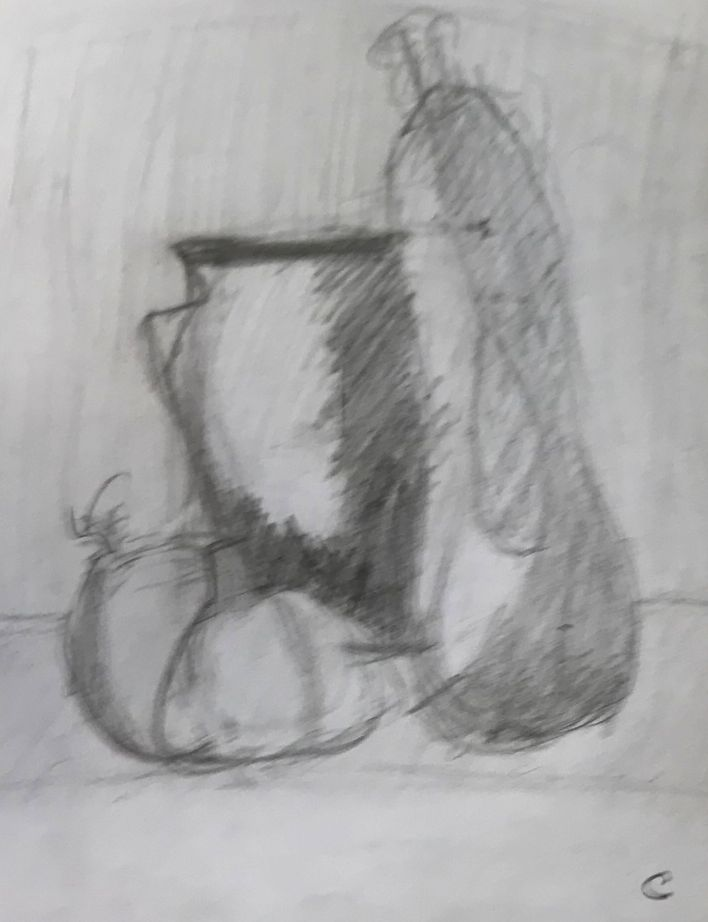 Cécile nm pot et courge 1 crayon 28-09-2019