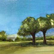 Franc oise arbres huile 02 2020
