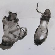 Marie-Jo chaussures encre de chine 01-12-2018