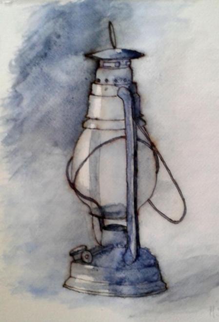 Marie-Jo lampe aquarelle étape 2 03-12-2016