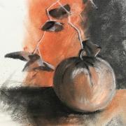 Marie jo melon fusain et pastel mouille 13 10 2020