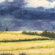Marie jo paysage de l astarac pastel gras 03 2021
