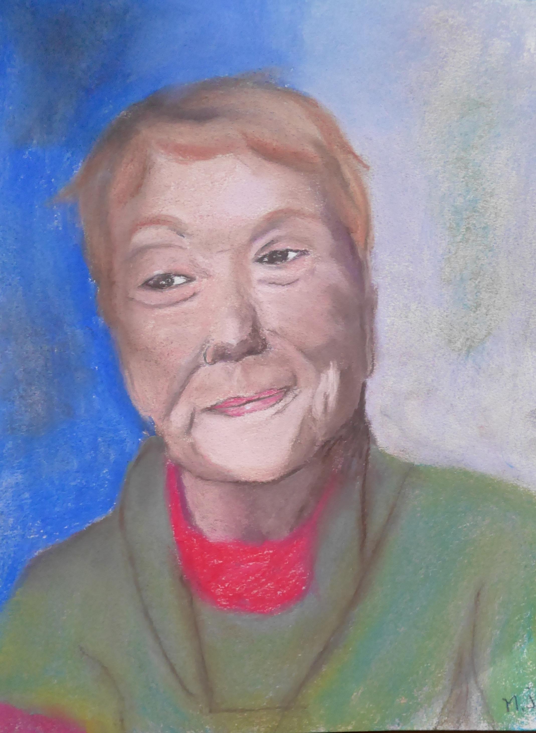 Marie-Jo portrait Gaby pastel sec 02-2019