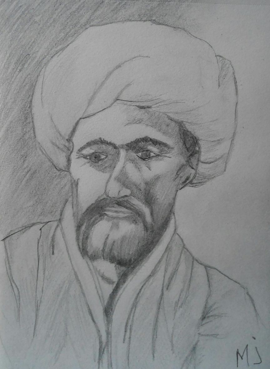 Marie jo vieux syrien crayon 05 2020