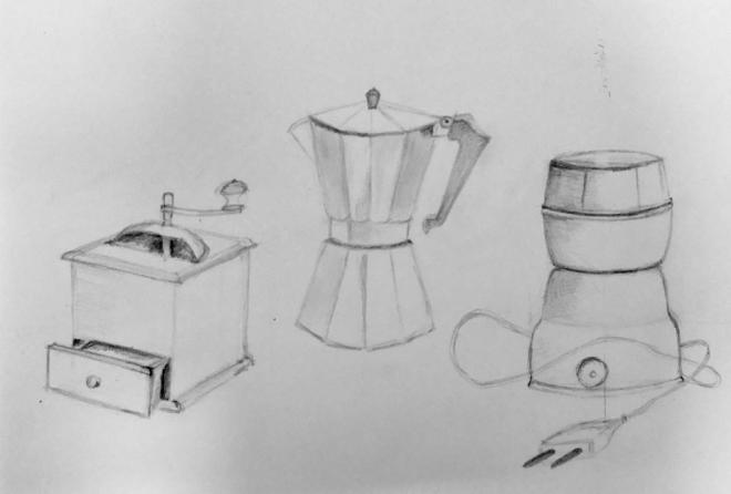 Martine autour du café graphite 21-01-2017