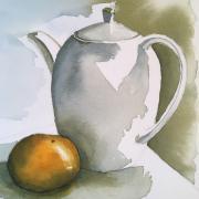 Martine cafetie re et mandarine aquarelle 04 2020