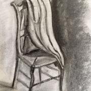 Martine chaise et drape fusain 04 2020
