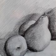 Martine fruits crayon 07-10-2017