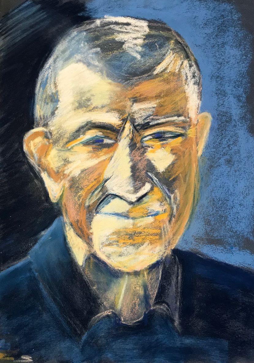 Martine portrait pastel sec 02 2020