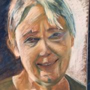 Martine portrait pastel sec 14-12-2019