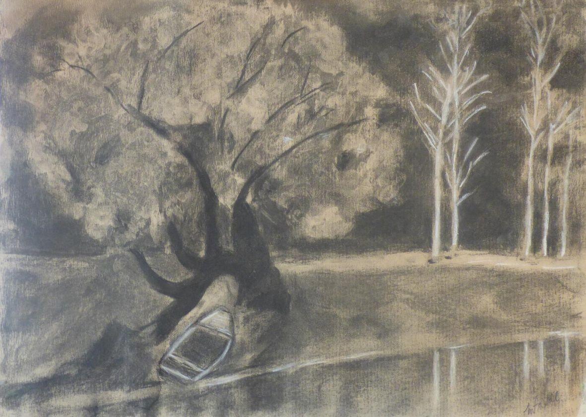 Miche le arbres fusain 02 2020