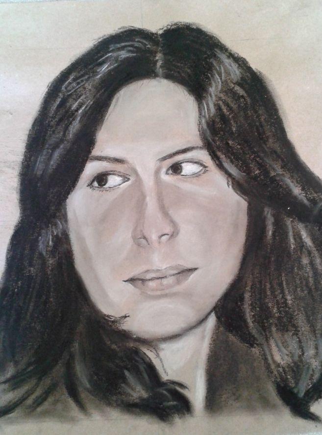 Michelle portrait pastel sec 20-02-2016