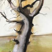 Monique arbre pastel sec 02 2020