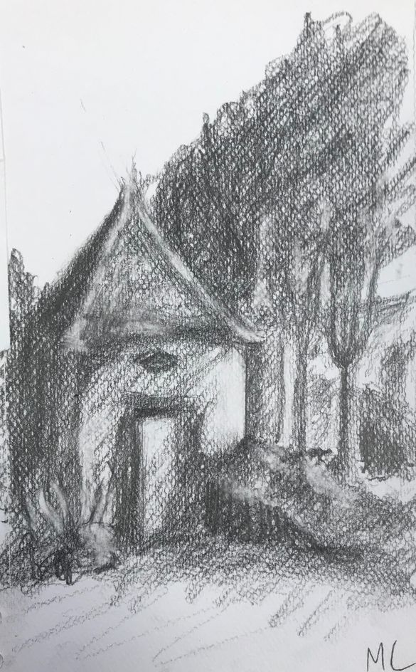 Monique le cabanon 1 crayon 12-10-2019
