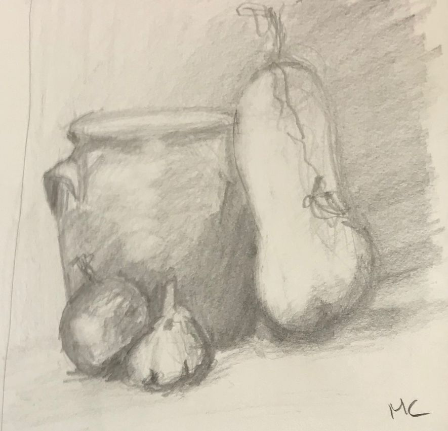 Monique nm pot et courge 1 crayon 28-09-2019