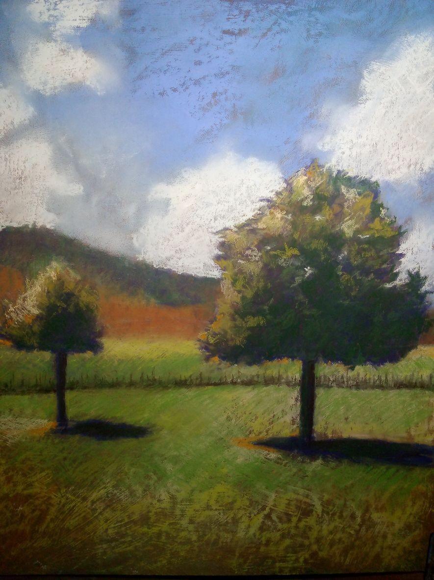 Monique paysage pastel sec 10 2020