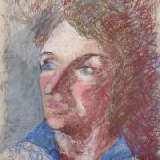 Monique portrait Marie-Jo pastel sec