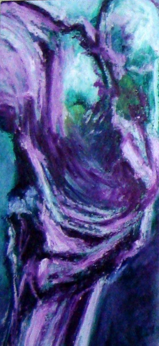 Nicole arbres 1 huile 03 2020