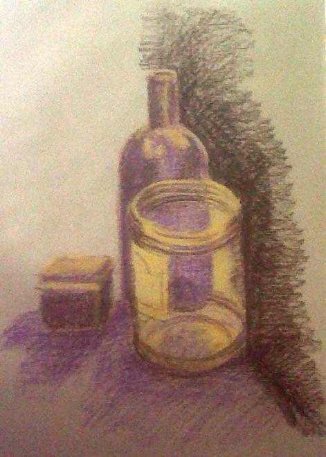 Nicole boîte,bouteille,bocal pastel sec 23-11-2013