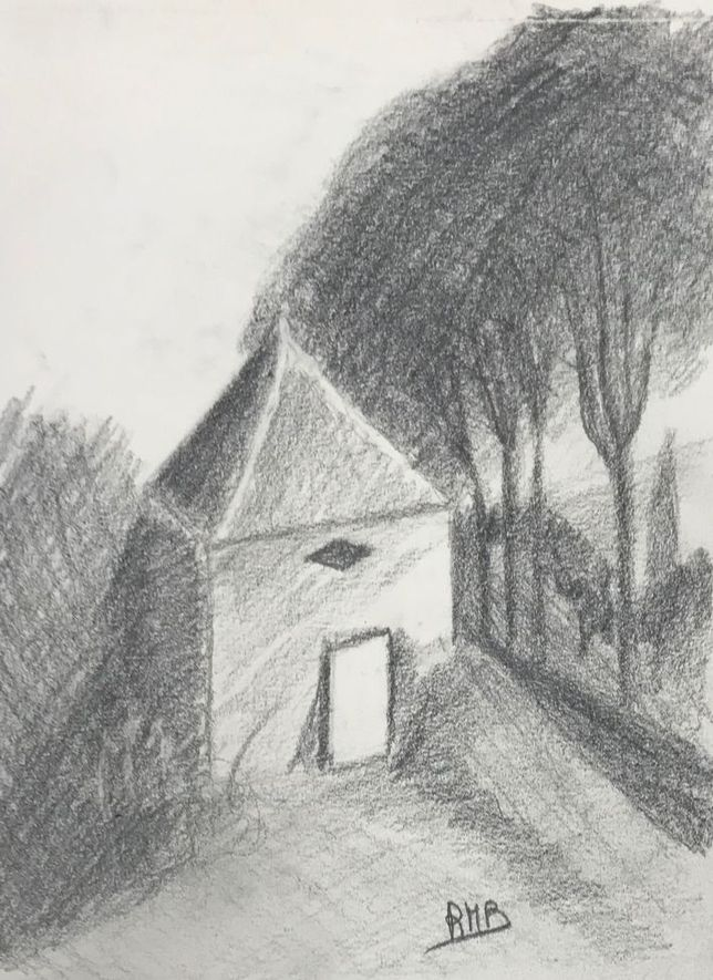 Rose-Marie le cabanon 1 crayon 12-10-2019