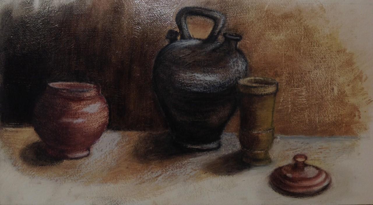 Rose marie pots pastel gras dilue 06 2020