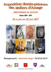Affiche expo eleves 06 2017