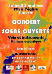 Amage scene ouverte 2018 simorre 1